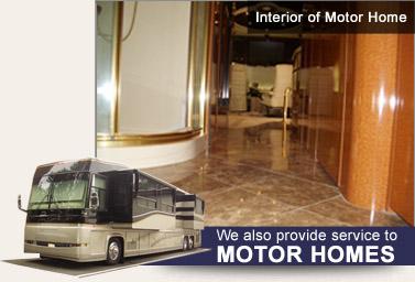 motorhome marble floor